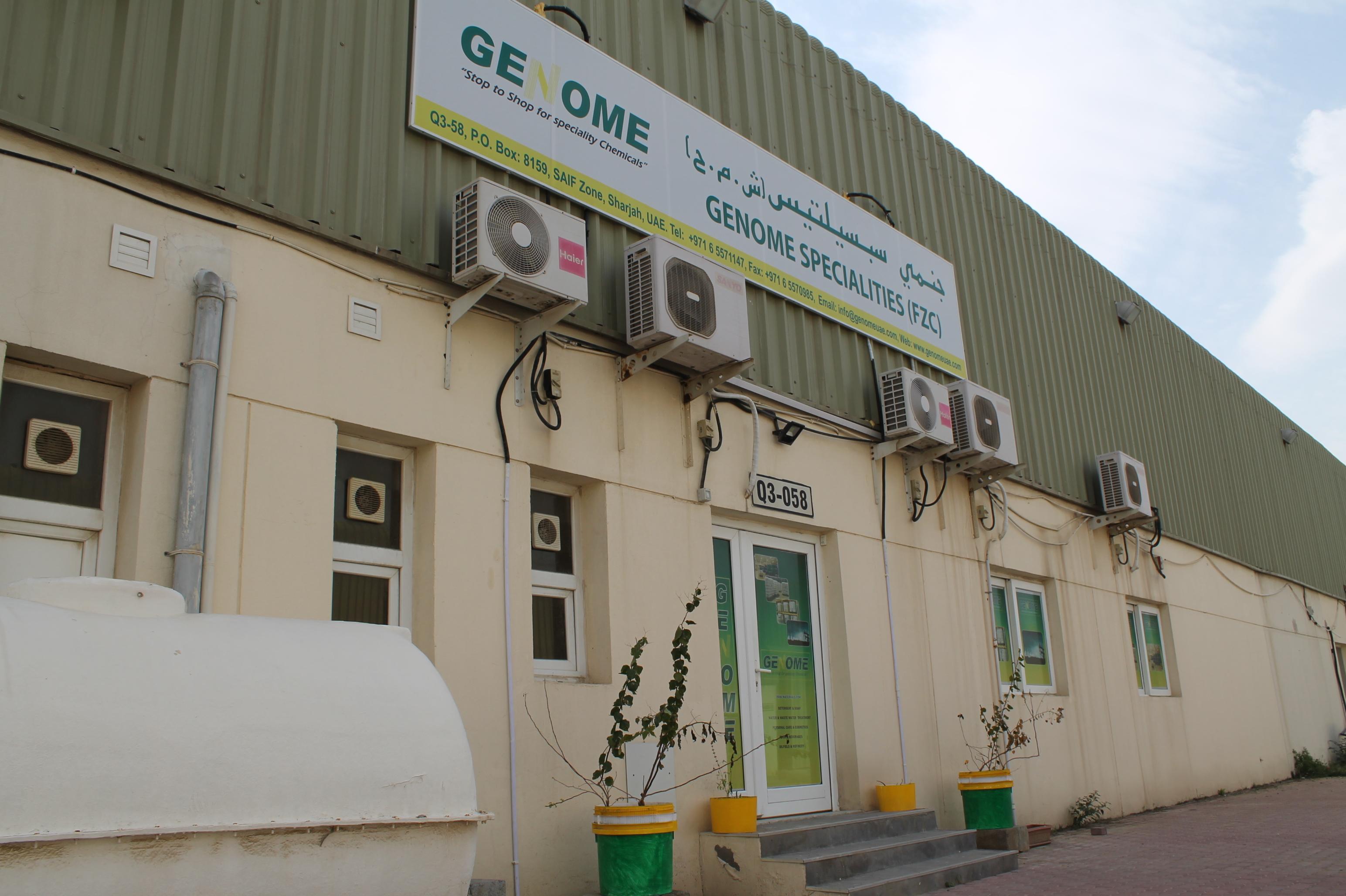 GENOME   Chemicals Suppliers in Dubai, UAE